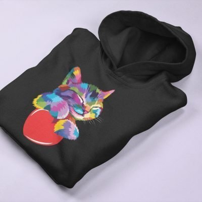 Cat Lover Hoodie by Nemry's
