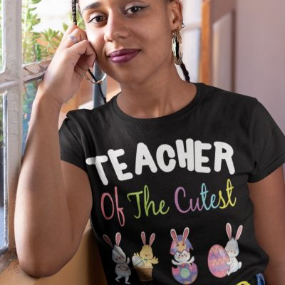 Teacher Easter Shirt Teacher of the Cutest Peeps