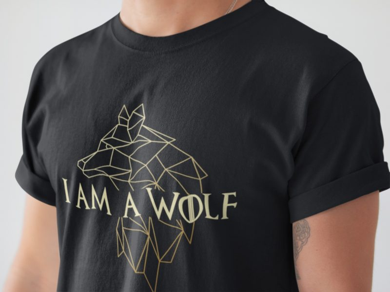 I am a wolf game of thrones t-shirt